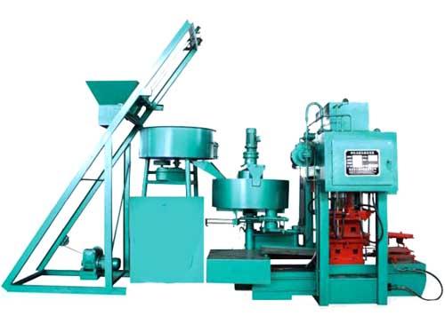 SMY8-128型制瓦机四柱型模压设备